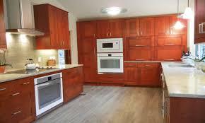 white quartz flooring medium brown kitchen cabinets ikea adel