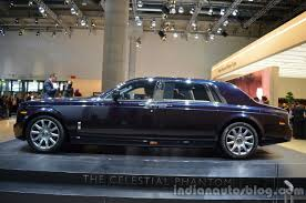 the rolls side of the rolls royce phantom celestial edition indian autos blog