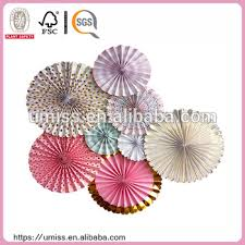 wedding paper fans umiss birthday party decorations wedding paper fan set buy