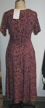 eagle traders carol dress 7 size large flax clothing bryn