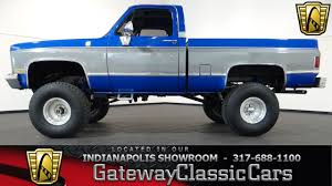 Classic Chevy Trucks Models - 1986 chevrolet k10 4x4 pickup gateway classic cars indianapolis