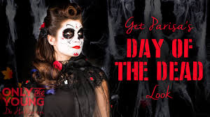 day of the dead makeup for halloween day of the dead halloween make up tutorial claire u0027s u0026 only the