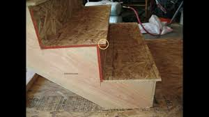 Stair Tread by What Is The Stair Tread Overhang Stairway Parts Youtube