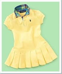 polo by ralph yellow pleated polo dress thegloss