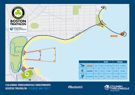 Map Room Boston by Course Description Boston Triathlon