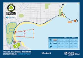 Traffic Map Boston by Course Description Boston Triathlon