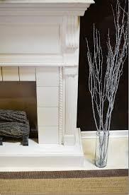 manzanita branches wholesale home decor with manzanita branches and fireplace design