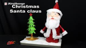 how to make santa claus decoration best out of waste