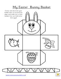 my easter bunny easter bunny basket templates happy easter 2017