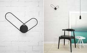 minimalist wall clock klipp minimalist wall clock by line studio