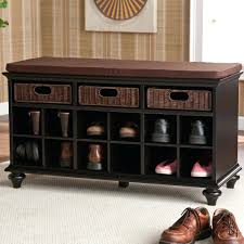 Entryway Wall Front Hall Shoe Bench Entryway Storage And Wall Mount Hutch
