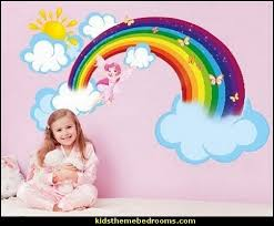 Cartoon Wall Painting In Bedroom Decorating Theme Bedrooms Maries Manor Rainbow Theme Bedrooms