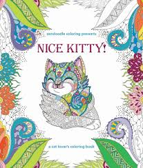 zendoodle coloring presents nice kitty caitlin peterson macmillan