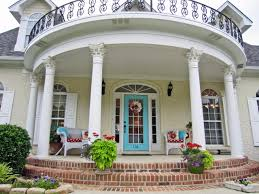 Home Design Ideas Front Front Porch Railings And Posts Bungalow Front Porch Spring