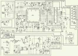 hyundai tv 800 7 inch tft lcd tv schematic circuit diagram