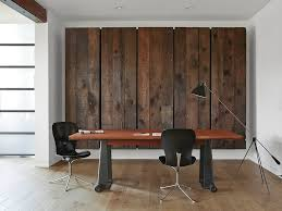 25 ingenious ways to bring reclaimed wood into your home office