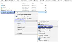 comment mettre sur le bureau un raccourci windows 10 ajouter le raccourci panneau de configuration sur le