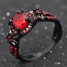 black ruby rings images Harley 39 s shiny red black ruby ring hero3d shop jpg
