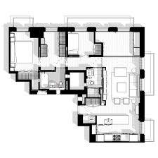 Tenement Floor Plan by Cherokee Loft U2014 Woodfin Architecture U0026 Design