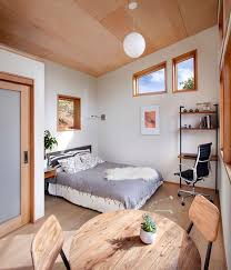 this small backyard guest house is big on ideas for compact living