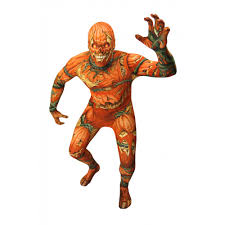 jack o u0027lantern evil pumpkin morphsuit from halloween hq