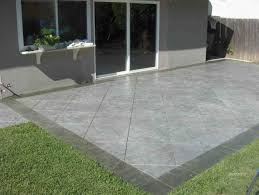 Slate Rock Patio by Others Large Concrete Pavers For Quickly Create A Patio With A