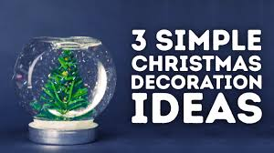 3 christmas holiday decorations you can make at home l 5 minute