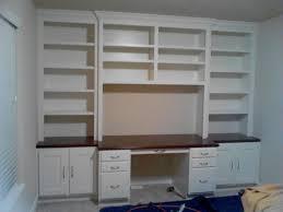 home design built in bookshelves with desk craftsman large