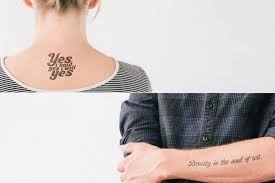 awesome literary temporary tattoos curioser and curioser