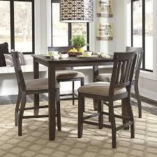 Loon Peak Rainier Counter Height Dining Table  Reviews Wayfair - Countertop dining room sets