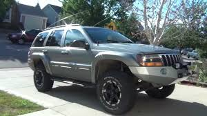 gray jeep grand cherokee 2004 grand cherokee winch bumper and flares youtube