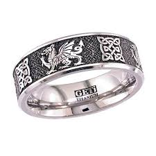 titanium celtic wedding bands celtic wedding ring