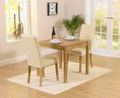 Oxford Cm Solid Oak Dining Table With Albany Cream Chairs The - Cream kitchen table