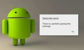 parse error while installing apk file parse error there is a problem parsing the package in android