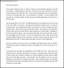 bunch ideas of how to write a complaint letter an airline company