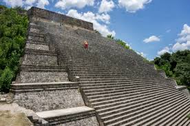 the magnificent ancient mayan complex of uxmal in mexico hidden