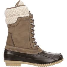 sweater boots magellan outdoors s sweater collar duck boots academy