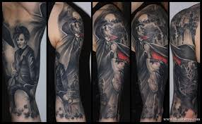 half sleeve vampire tattoos photo 2 2017 real photo pictures
