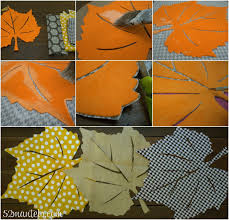 Fall Table Runners by 52 Mantels No Sew Fall Leaves Table Runner 10 Thanksgiving