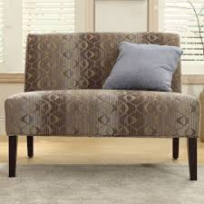 Inspire Home Decor Furniture Appealing Oval Chain Armless Loveseat By Inspire Q
