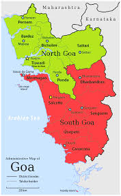 India Map Of States by Goa Map Google Map Of Goa State India With Information U2013 India Map