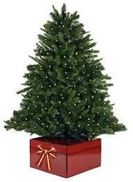 christmas tree stands new the original christmas tree box tree stand cover led fiber