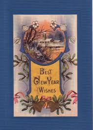 best new years cards 70 best new years vintage cards images on