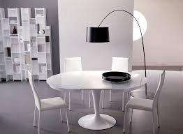 round glass dining table modern modern round glass dining