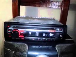 stereo sony cdx gt170 youtube