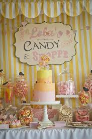 candy for birthdays vintage candy sweet shoppe girl 6th birthday party planning ideas