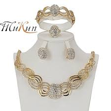 jewelry necklace bracelet images 18k bridal inlaid crystal costume jewelry sets mukun necklace jpg