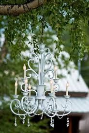 Outdoor Chandelier Diy Best 25 Chandelier Wedding Ideas On Pinterest Diy Outdoor