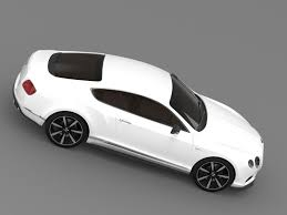 bentley sports coupe 3d model bentley continental gt v8 s coupe 2014 cgtrader