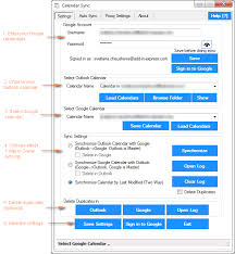 sync outlook calendar with android how to sync calendar with outlook 2010 2013 and 2016